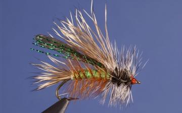 Dry Fly: Green Seducer