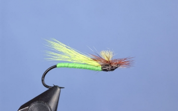 Hairwing: Green Stone Fly