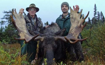 Father & Son Moose Hunt