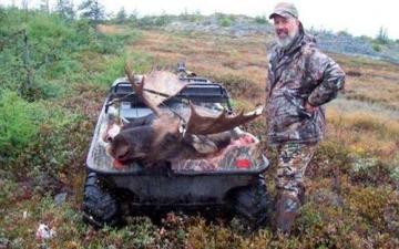 Tundra Moose Hunt