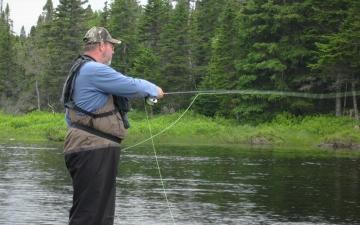 Fishing At Southwest Brook