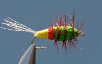 Bug: Glitter Bug Red/Yellow