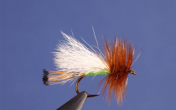 Dry Fly: Lime Trude