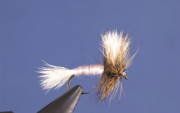 Dry Fly: White Wulff