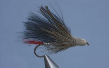 Muddler: Red Tailed Maribou