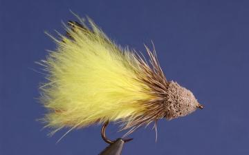 Muddler: Yellow Maribou