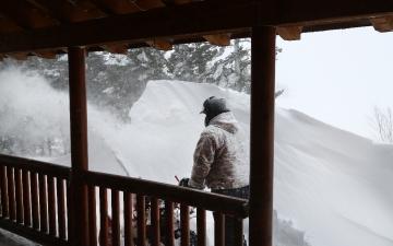 Winter Snow Drift