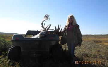 Happy Caribou Hunter